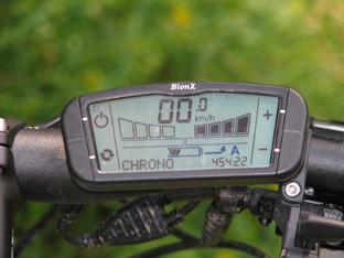 KTM eLycan tachometr