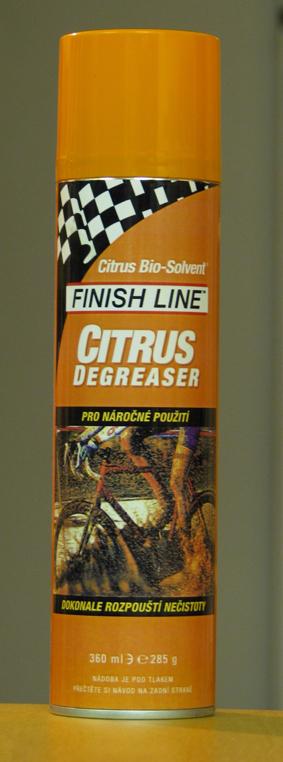 Finish Line Citrus Degreaser