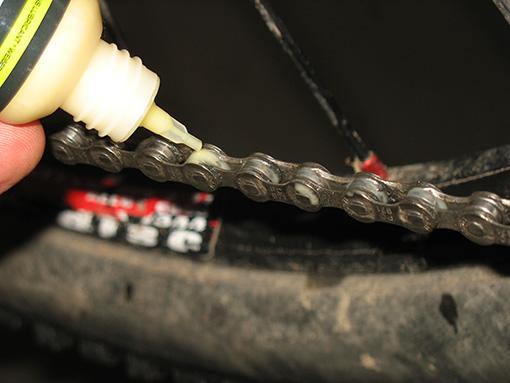 Hobbybastler - čištění řetězu