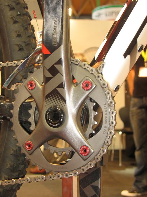 Carbon-Ti X-Ring MTB Titanium EVO