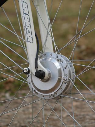 Mayo e-XR Basic test kola přední kolo