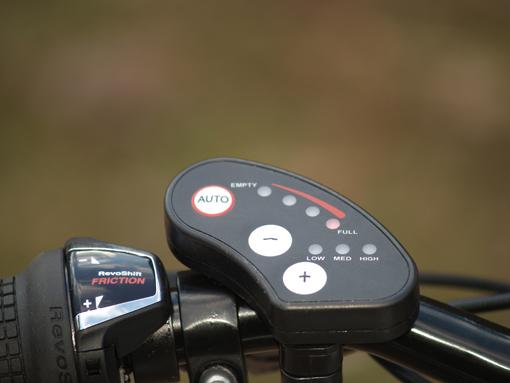 Mayo e-XR Basic ovládání