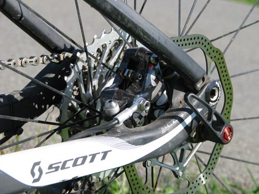 Scott Spark RC kotoucove brzdy